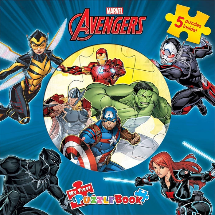 Marvel Avengers - My First Puzzle Book