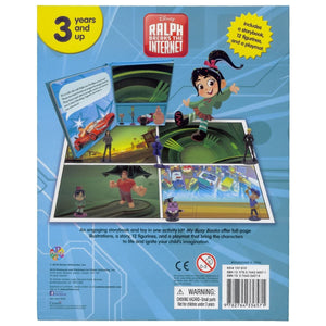 Disney Ralph Breaks The Internet - My Busy Books, [Product Type] - Daves Deals