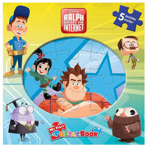 My First Puzzle Book - Ralph Breaks the Internet - Daves Deals