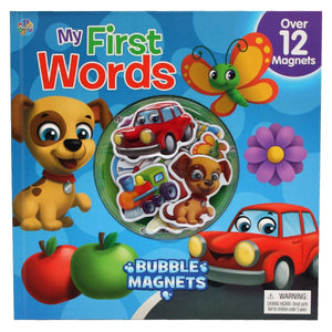 Bubble Magnets My First Words, [Product Type] - Daves Deals