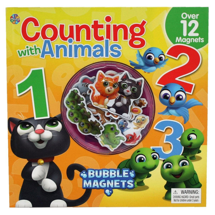 Bubble Magnets Counting With Animals