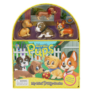 Adorable Pups - My Mini Busy Books, [Product Type] - Daves Deals