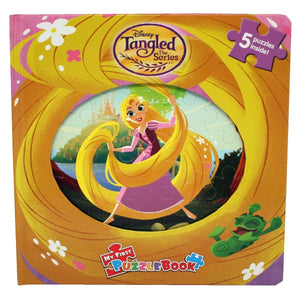 My First Puzzle Book - Tangled The Series, [Product Type] - Daves Deals
