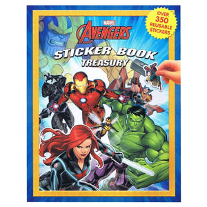 Avengers Sticker Book Treasury, [Product Type] - Daves Deals
