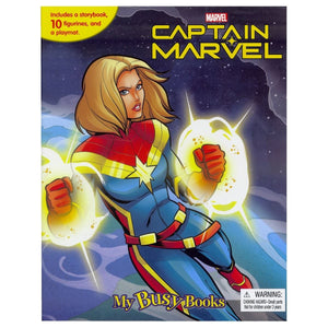 Captain Marvel  - My Busy Books, [Product Type] - Daves Deals