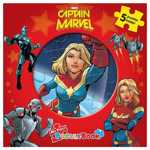 My First Puzzle Book - Captain Marvel