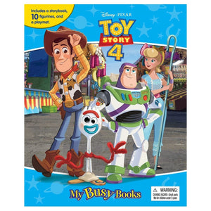 Toy Story 4 - My Busy Books