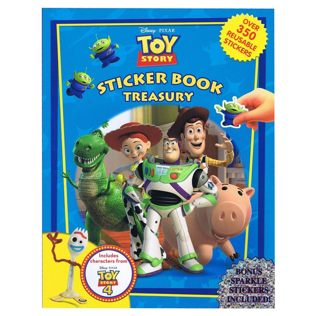 Toy Story Sticker Book Treasury