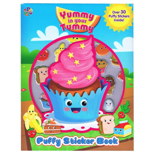 Yummy In Your Tummy - Puffy Sticker Book