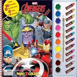 Paint & Colour Marvel Avengers