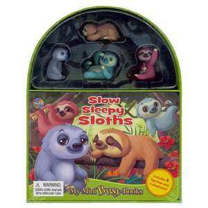 Slow Sleepy Sloths - My Mini Busy Books, [Product Type] - Daves Deals