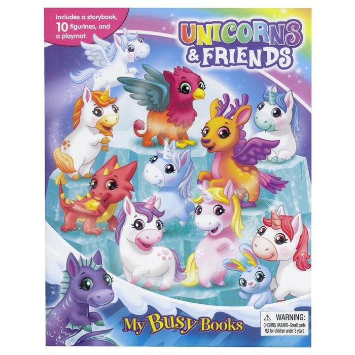 Unicorns & Friends - My Busy Books