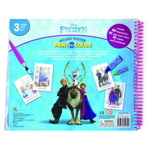 Disney Frozen Deluxe Poster Paint & Colour, [Product Type] - Daves Deals