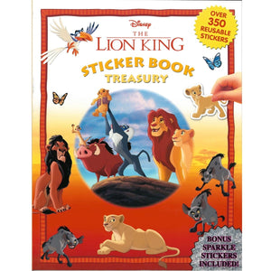 The Lion King Sticker Book Treasury, [Product Type] - Daves Deals