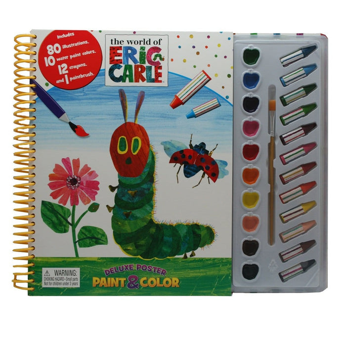 Paint & Colour The World of Eric Carle