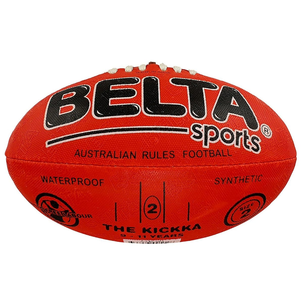 Belta Sports Size 2 Football - Red - Daves Deals