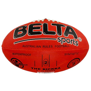 Belta Sports Size 2 Football - Red, [Product Type] - Daves Deals