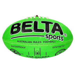 Belta Sports Size 2 Football - Green - Daves Deals