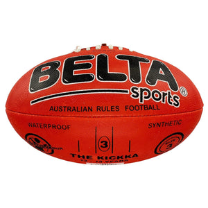 Belta Sports Size 3 Football - Red, [Product Type] - Daves Deals