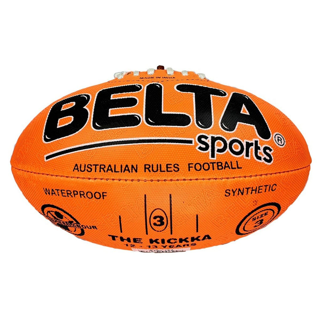 Belta Sports Size 3 Football - Orange, [Product Type] - Daves Deals