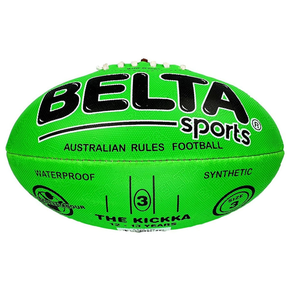 Belta Sports Size 3 Football - Green, [Product Type] - Daves Deals