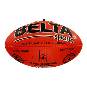 Belta Sports Size 4 Football - Red, [Product Type] - Daves Deals