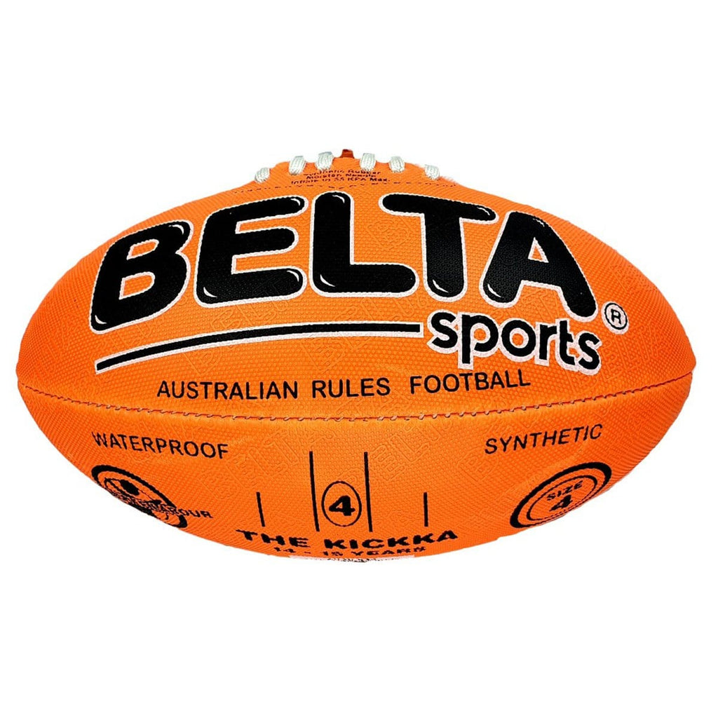 Belta Sports Size 4 Football - Orange, [Product Type] - Daves Deals