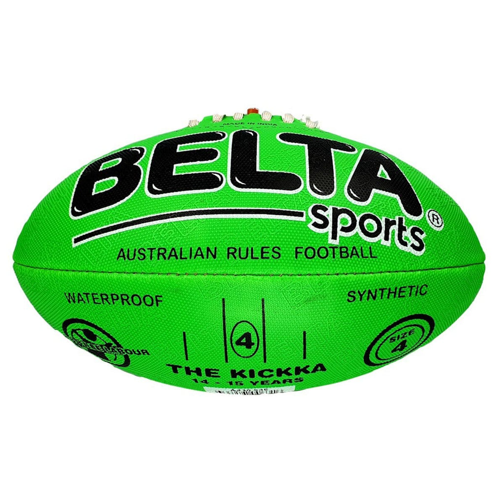 Belta Sports Size 4 Football - Green