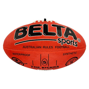 Belta Sports Size 5 Football - Red - Daves Deals