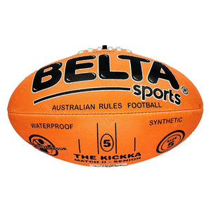Belta Sports Size 5 Football - Orange