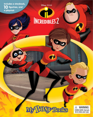 Incredibles 2 - My Busy Books, [Product Type] - Daves Deals