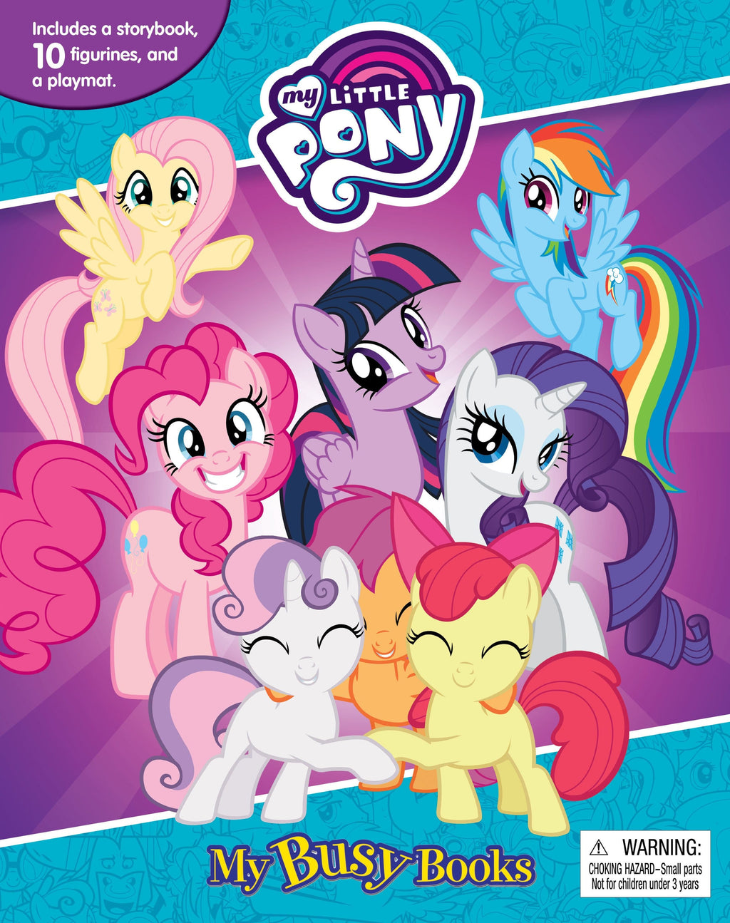 My Little Pony - My Busy Books, [Product Type] - Daves Deals