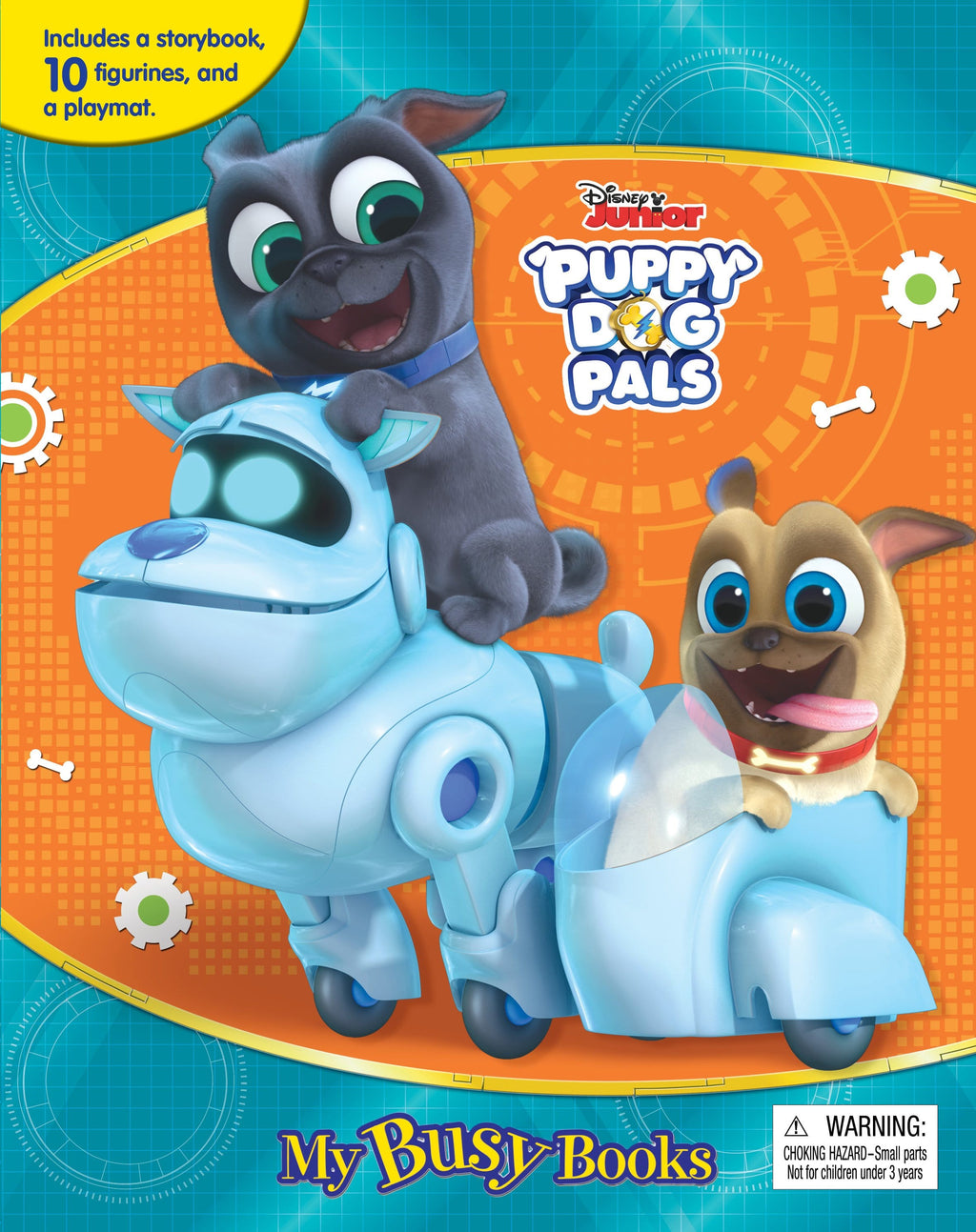 Puppy Dog Pals - My Busy Books