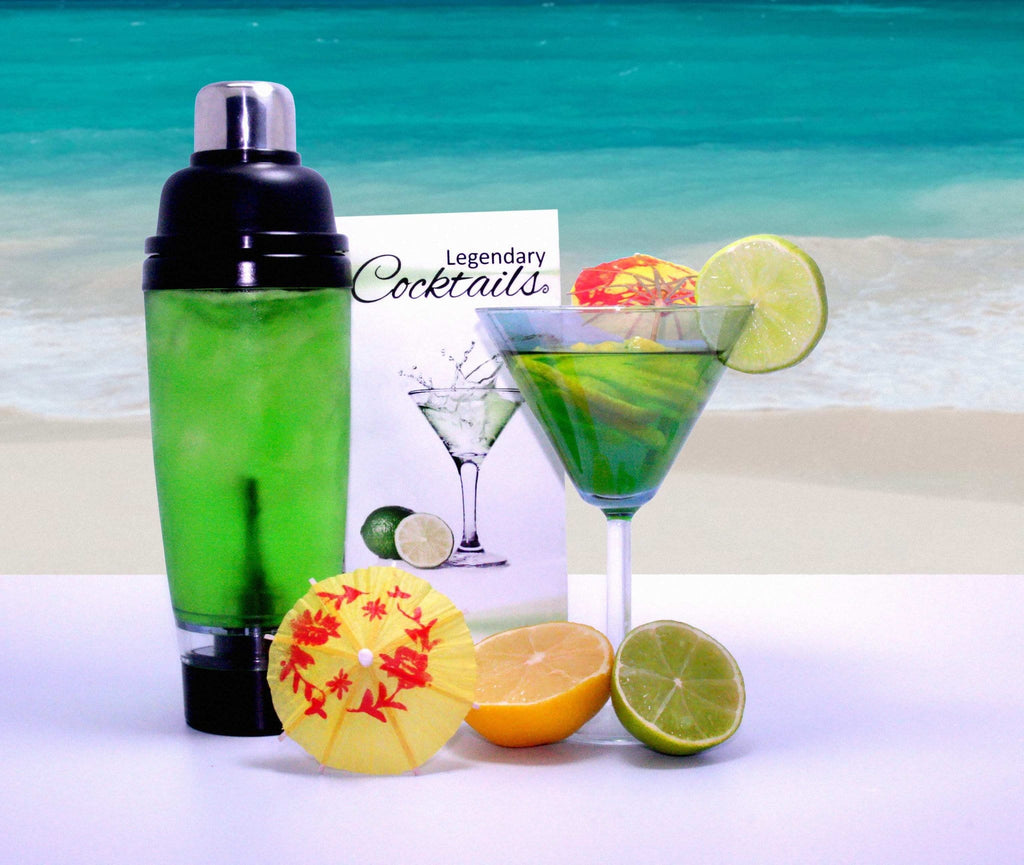 Legendary Cocktails Book And Tornado Blender Gift Set, [Product Type] - Daves Deals