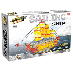 Construct It! Sailing Ship, [Product Type] - Daves Deals