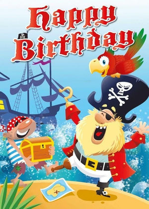 Happy Birthday - Pirates, by Mark Davis , By Catharine Pitt and Mackerel Design, [Product Type] - Daves Deals