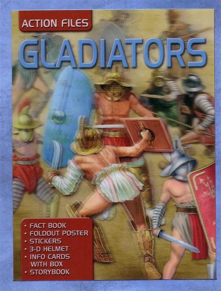 Action Files: Gladiator - By Rupert Matthews, [Product Type] - Daves Deals