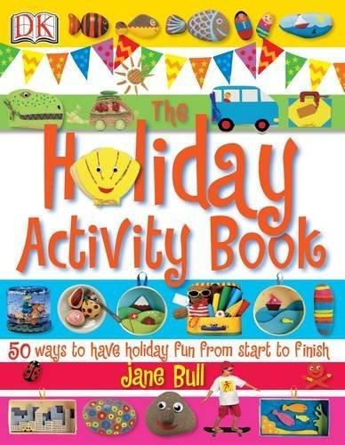 DK Holiday Activity Book by Jane Bull - Books - Daves Deals