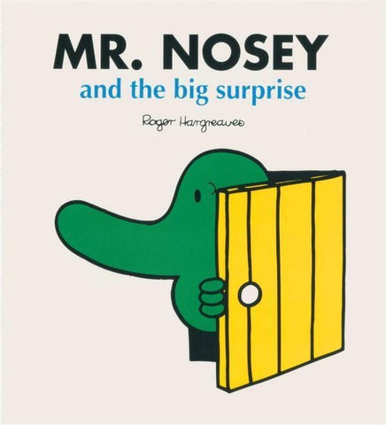 Mr Nosey And The Big Surprise Mr. Men