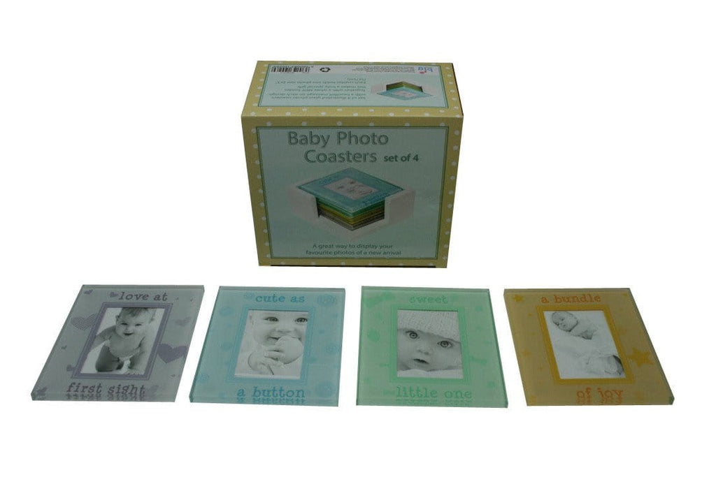 Baby Photo Coasters Set Of 4, [Product Type] - Daves Deals