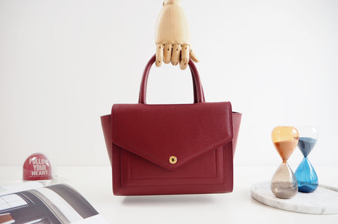 Kensington Tote Bag - Red Color