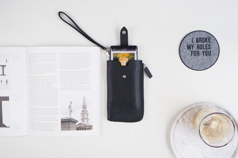 Smartphone Sleeve - Black