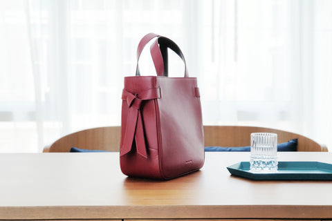 Marbel Tote Bag - Red