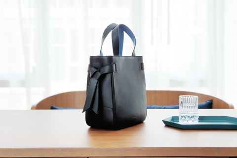 Marbel Tote Bag - Black