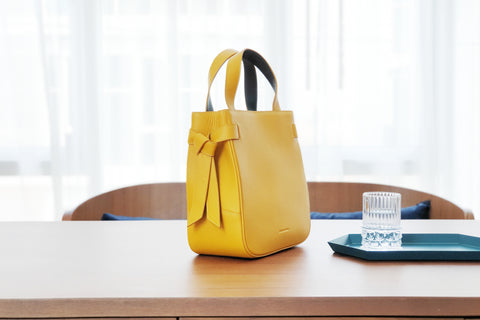 Marbel Tote Bag - Yellow