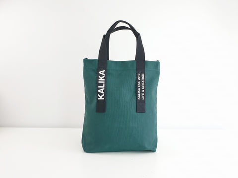 Kalika Brax Tote Bag - Peacock Green