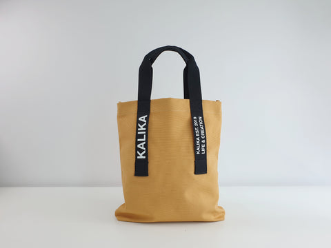 Kalika Brax Tote Bag - Mustard Yellow