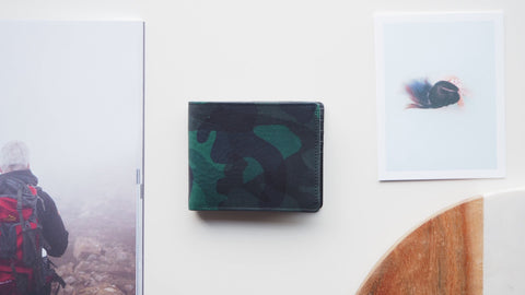 Camouflage Billfold Wallet - Dark Green