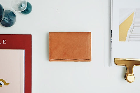 Luca Card Holder - Tobacco