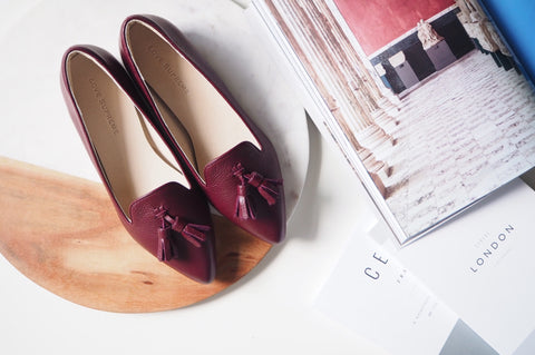 Miri Loafer Shoe - Burgundy